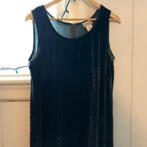 90's Velvet Jumper, dress